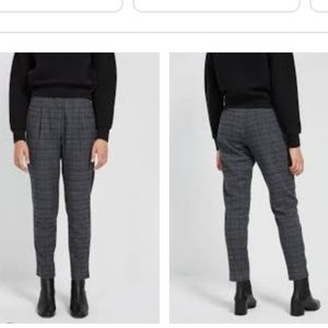 Frank and Oak The Grant pleated pant in Grey